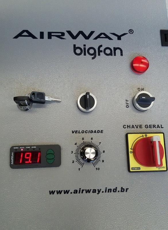 Ventilador para incubadora